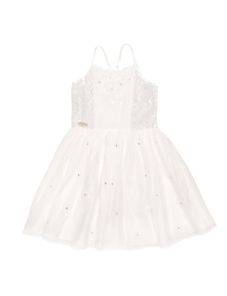 Snow flake dress (3-7)