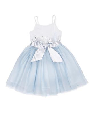 Frosty cloud tutu dress (3-7)