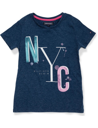 AME GIRLS ICONIC CN KNIT S/S 1