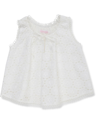 Kali Broderie Top (2-6 Years)