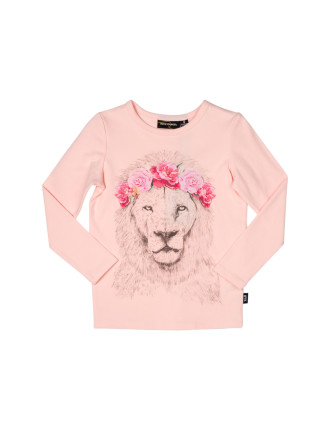 Festival Lion L/S T-Shirt (Girls 2-7 Years)