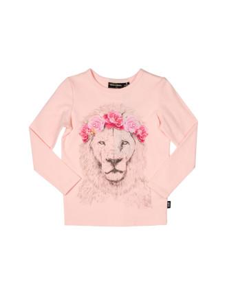 Festival Lion L/S T-Shirt (Girls 3-8 Years)