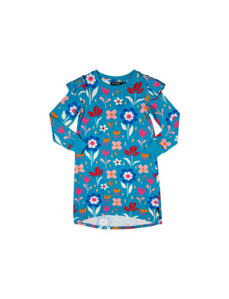 Mod Floral T-Shirt Dress (Girls 3-8 Years)