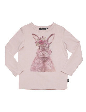 Easter Bunny L/S Tee (Girls 3-8 Years)