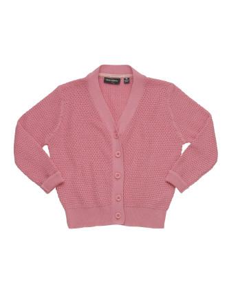 Grandma Knit Cardigan (Girls 3-8 Years)