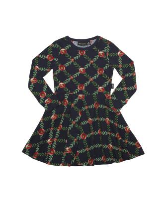 Trellis Waisted Dress (Girls 3-8 Years)