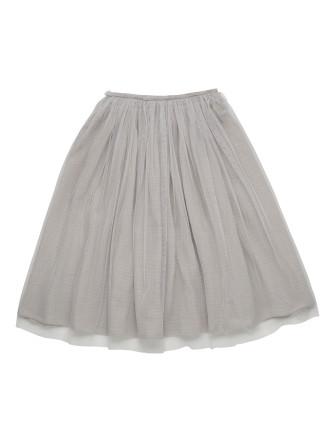 Tulle Overlay Skirt (Girls 3-8 Years)