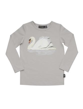 Wild Swans L/S T-Shirt (Girls 3-8 Years)