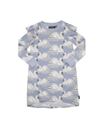 Wild Swans T-Shirt Dress (Girls 3-8 Years)