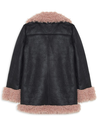 Paco Fur Jacket (Girls 8-14 Years)