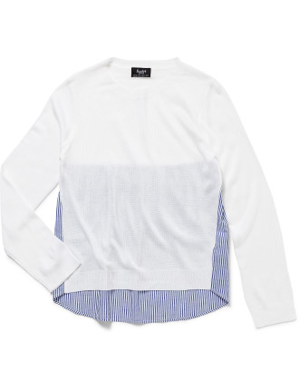 Panel Knit Top