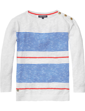 Dee Stripe Sweater L/S