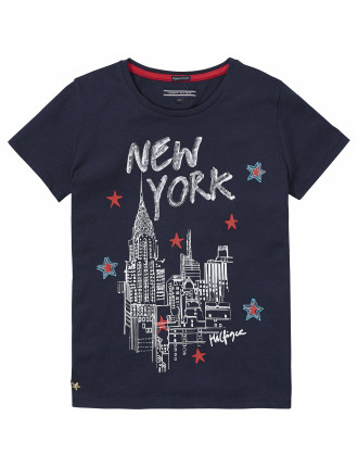 New York Cn Knit S/S
