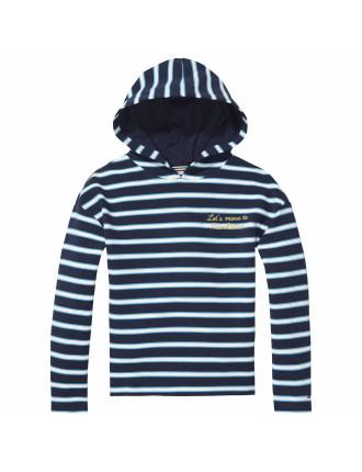 Striped Hd Hwk L/S