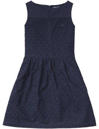 Ame Geo Shiffley Dress Slvls