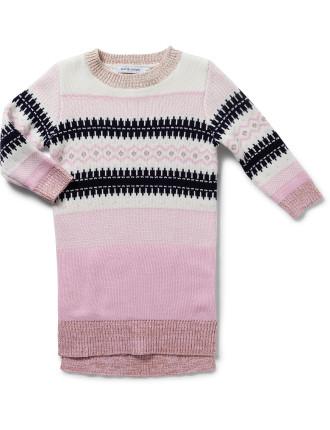 Winter True Knit Sweater Dress