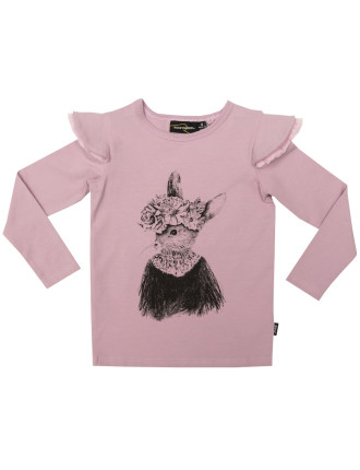 Bunny Bloom Ls Tee