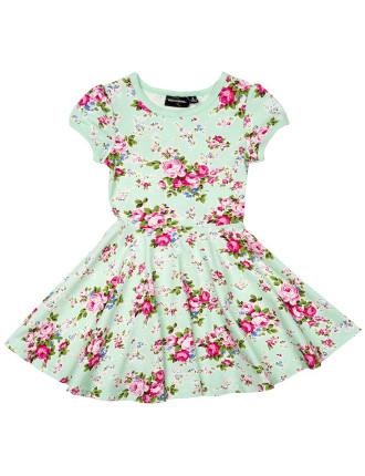 Maeve Mint Ss Waisted Dress
