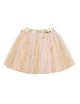 Stay Gold Tulle Skirt