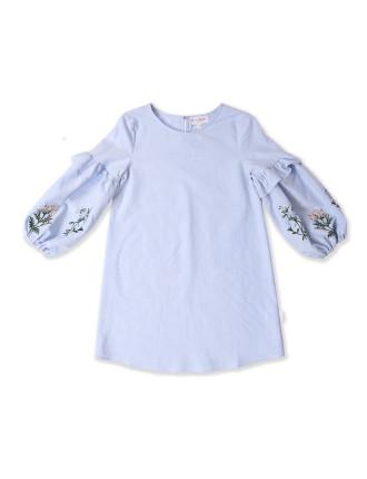 Iris Puff Sleeve Dress (8-16 Years)