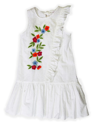Garden Vine Dress (8-16 Years)