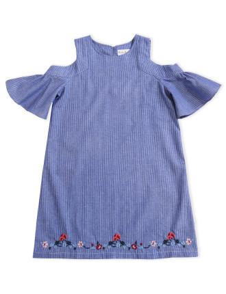 Priscilla Embroidered Dress