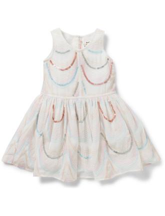 Girls Organza Satin Ceremonie Dress