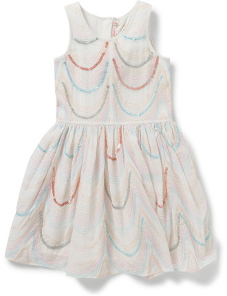 Girls Organza Satin Ceremonie Dress
