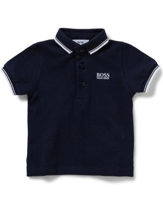 Boys Essential Logo Polo