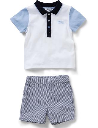 Boys Set Polo & Shorts