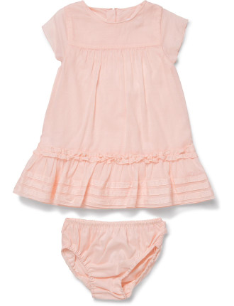 Baby Girls Dress & Knicker Set