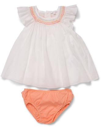 Baby Girls Shirt & Bloomer