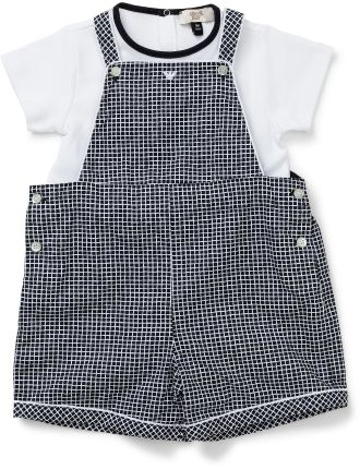 Boys Boxed 2 Piece Set - Overalls & Tee