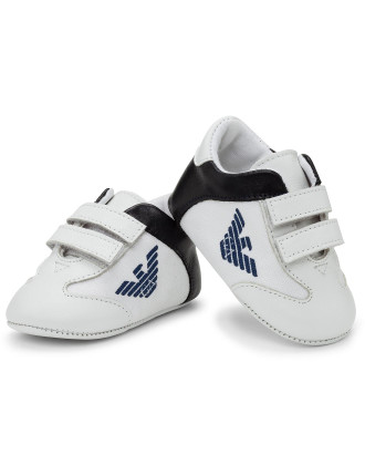 Boys Boxed Logo Sneakers