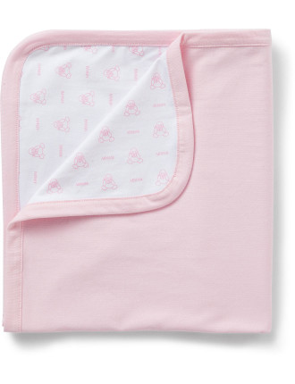 Girls Boxed Newborn Blanket