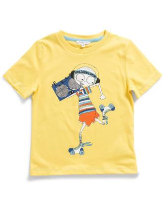 Boys Ghetto Blaster T-Shirt (2-10Y)
