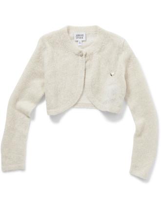 Cropped Cardigan Size 6-8