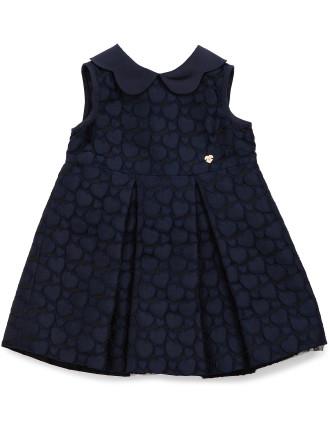 Jacquard Heart Dress