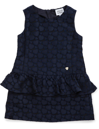 Jacquard Heart Dress Size 2-8