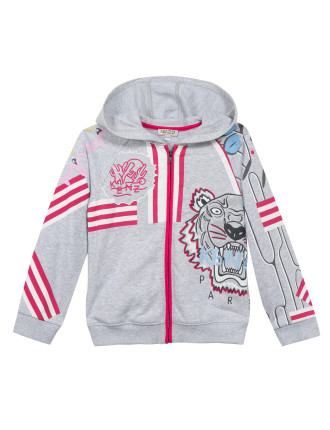 Girls Kenzo Hooded Jacket