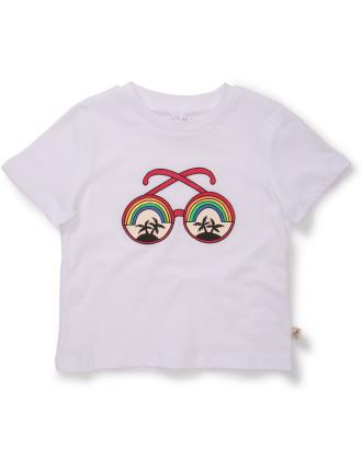 Arlo Tee W/Sunglasses Print