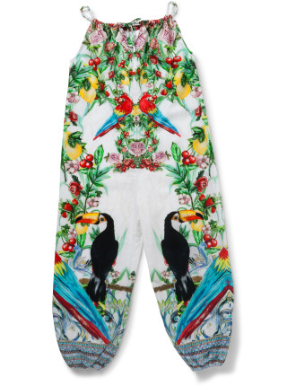 ONE FLEW OVER BALLOON JUMPSUIT (4Y - 10Y)