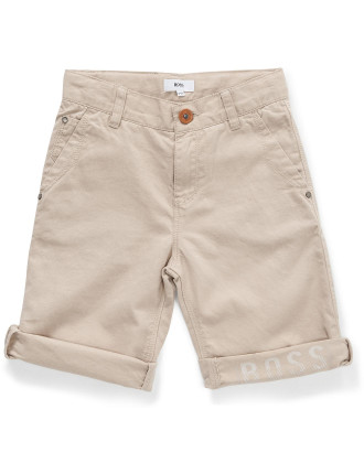 BERMUDA LINEN/COTTON SHORT (8-12 Yrs)