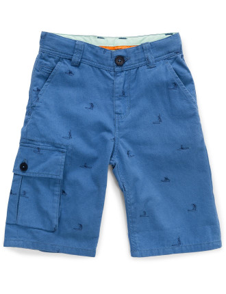 BERMUDA SHORTS W/ POCKET (6-12 Yrs)