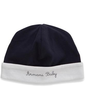 NEW BORN BOYS JERSEY BEANIE HAT