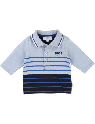 LONG SLEEVE POLO(3-18 months)