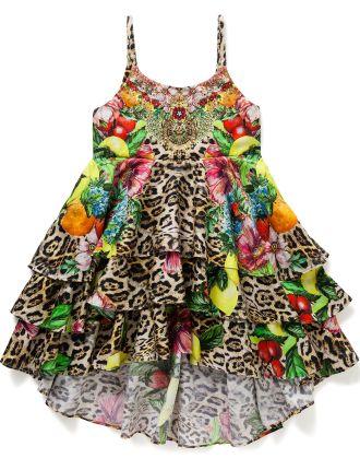 Kids' Short Layered Dress (4-6 Years)