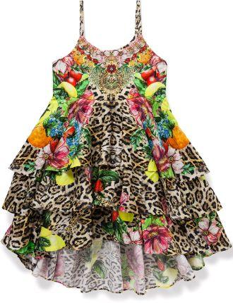 Kids' Short Layered Dress (8-10 Years)