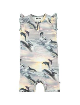 Dolphin Sunset Bodysuit(3 Months- 2 Years)