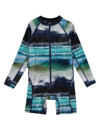 Ocean Stripe Swimsuit (12Months-2 Years)